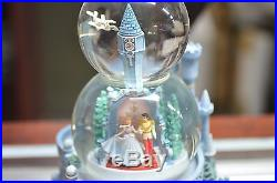 Disney Store 2002 Cinderella Retired Musical Snow Globe Statue