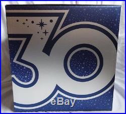 Disney Store 30th Anniversary Celebration Character Snowglobe Anna Elsa Baymax