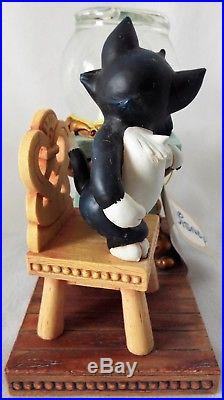 Disney Store Catalog Pinocchio FIGARO & CLEO Small Snow Globe with Tag