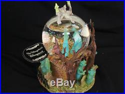 Disney Store Excl. Haunted Mansion Musical Snowglobe Grim Grinning Ghosts withBox