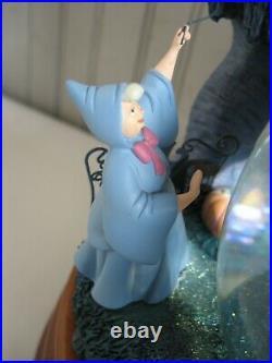 Disney Store Exclusive Cinderella 55th Anniversary Snow Globe with Box