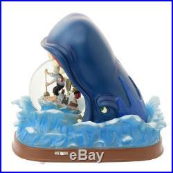 Disney Store Japan 25th Anniversary Pinocchio Snow Dome Globe Zeppetto Monstro