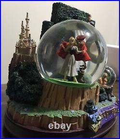 Disney Store Sleeping Beauty Musical Snow Globe Once Upon a Dream Snowglobe