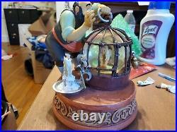 Disney Store Snow Globe Stromboli Pinocchio Jiminy Cricket 2001 No Box