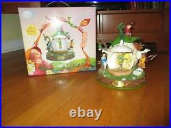 Disney Store Tinkerbell and the Lost Treasure Teapot Snow Globe Fairies
