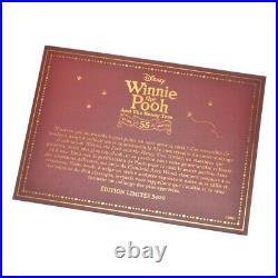 Disney Store Winnie the Pooh And The Honey Tree 55th Anniversary Snow Globe