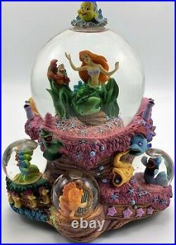 Disney The Little Mermaid Ariel Under The Sea Musical Multi Globes