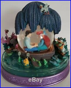 Disney The Little Mermaid Kiss The Girl Snowglobe In Original White Box
