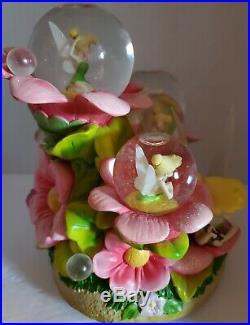 Disney Tinker Bell- Moods- Snow Globe Rare And Htf