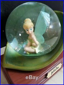 Disney Tinkerbell 25th Anniversary Snowglobe