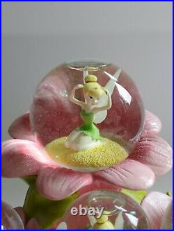 Disney Tinkerbell- Moods- Snow Globe Rare And Hard To Find