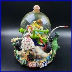 Disney Toy Story Snow Globe You've Got A Friend In Me Pixar 1995 Woody & Buzz