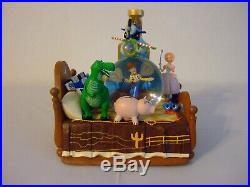 Disney Toy Story Snowglobe Extremely Rare Andy's Bed