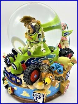 Disney Toy Story Woody and Buzz Snow Globe Youve Got A Friend In MePixar 1995