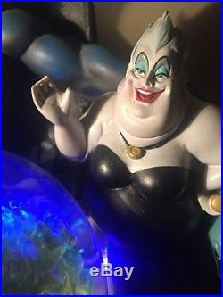 Disney VILLAINS Chernabog Musical Lighted Snow Globe
