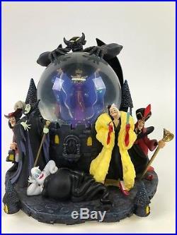 Disney Villains Snow Globe Share a Dream Come True Parade Grim Grinning Ghosts