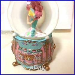 Disney little mermaid Ariel Snow globe Accessory case Flander Jewelry case box