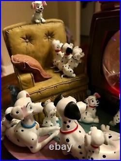 Disney's 101 Dalmatians Thunderbolt Snow Water Globe Snowglobe Item #95976