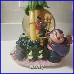 Disney's Lilo and Stitch Musical Snowglobe with Song Plays Aloha