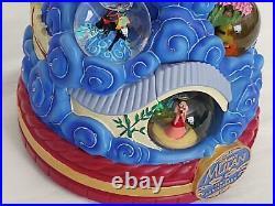 Disney's Mulan Tenth Anniversary Limited Edition Snowglobe EXTREMELY RARE Mushu