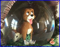 Disney's The Fox And Hound, Rare Snow Globe