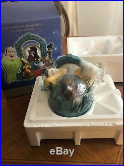 Disney store Beauty and the Beast musical snow globe, NEW IN BOX