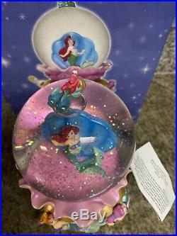 Disney the little mermaid Daugthers Of Triton snowglobe