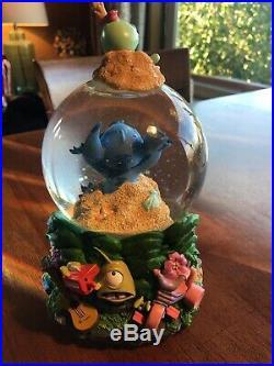 Disneys Stitch Snow Globe Music Box