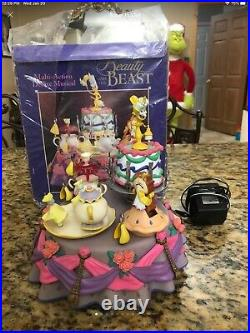 Enesco Disney Beauty And The Beast Multi-action Deluxe Musical Original Box