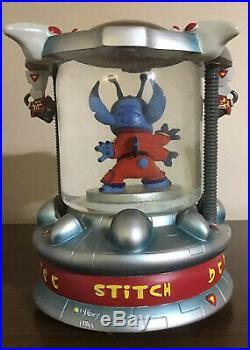 Experiment 626 Rare Light Up Snowglobe Lilo And Stitch Disney Disneyana Globe