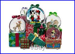 From All Of Us To All Of You Disney Christmas SnowglobeLAST ONE RARE Mickey