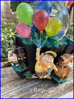 HTF Disney Pixar UpSnow Globe Russell Dug Carl Kevin W Blower