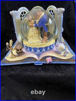 Hallmark Disney Beauty and the Beast Water Globe -Wonder Within Collection-New