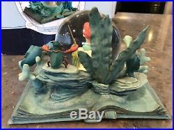 Hallmark Disney Little Mermaid Water Globe Snow Wonders Within NIB Beautiful Nee