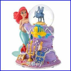 Little Mermaid 30th Disney Store Ariel Snow Globe Dome Figure Flander Sell