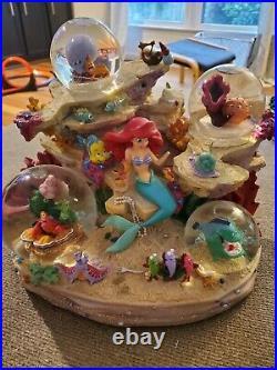 Little Mermaid Singing Snowglobe Disney Store