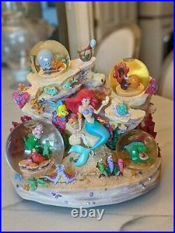 NEW IN BOX Disney The Little Mermaid Under The Sea Collectors Musical Snowglobe