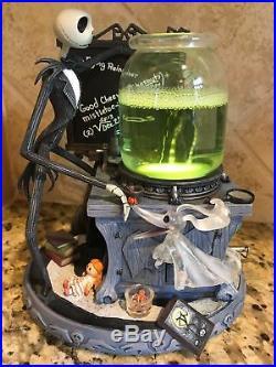 nib disney store nightmare before christmas snow globe jacks science project
