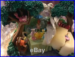 New! Disney Alice in Wonderland Mad Hatter's Tea Party Snow Globe Snowglobe