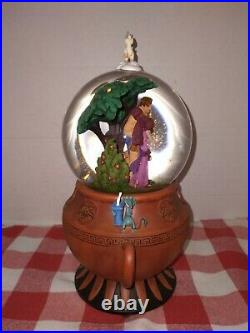 New In Original Box Disney Hercules Snow Globe RARE Awesome Find Never Displayed