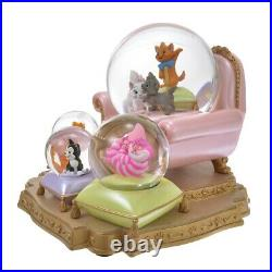 Pre-Order Disney Store JAPAN 2021 Cat Day Figure Snow globe Marie Figaro Oliver