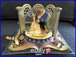 RARE Beauty & the Beast Snow Water Globe 2013 Wonders Within Tale Old Time