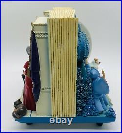 RARE Cinderella Disney Storybook Snowglobe 2 Sided Original Box & Packaging