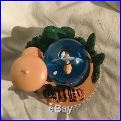RARE Disney Aladdin JASMINE & RAJAH Castle Garden Musical Figurines Snowglobe