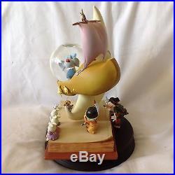 RARE Disney Fantasia SILLY SYMPHONY Lmtd Edition Statue Figurines SnowGlobe-MIB