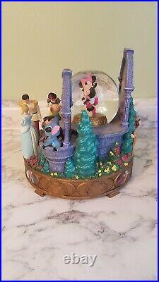 RARE Disney Kiss the girl Musical Snowglobe