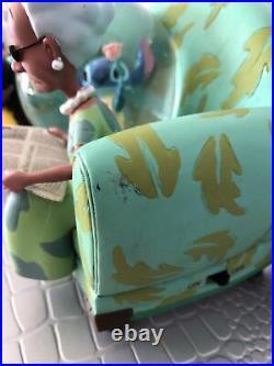 RARE Disney Lilo And Stitch You Are So Beautiful Snow Globe