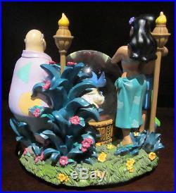 RARE Disney Lilo and Stitch Nani Elvis Party Celebration Snowglobe Music Box
