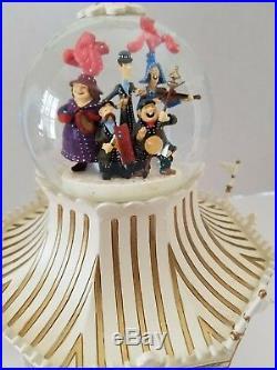 RARE Disney Mary Poppins Jolly Holiday Carousel Snow Globe-read Description