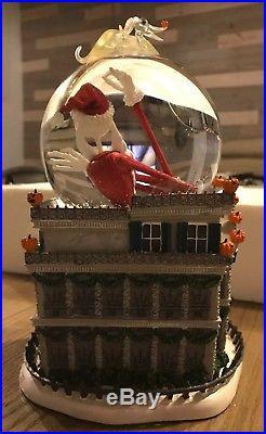 RARE Disneyland Nightmare Before. Haunted Mansion Snow Globe! Disney Parks